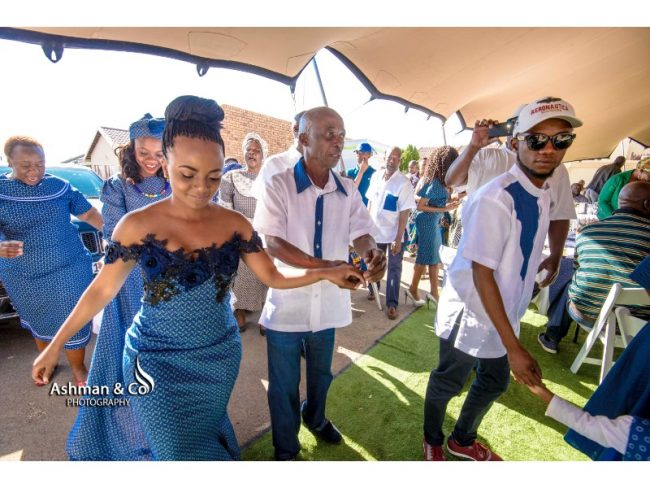A Stylish Tswana Wedding
